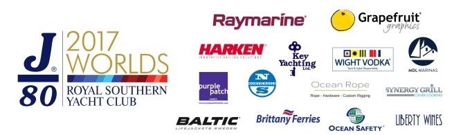 all sponsors j80 worlds 2017